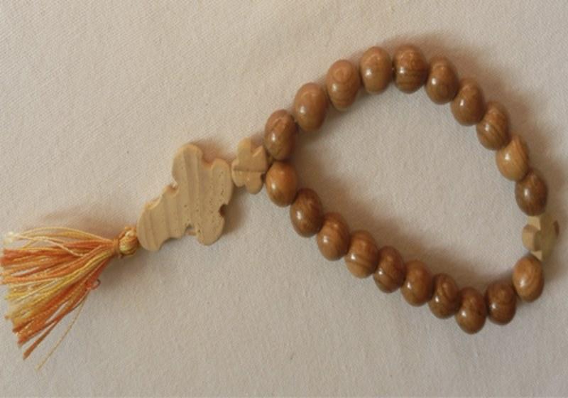 Четки православные из абрикоса  D 10 mm