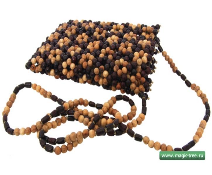 Деревянные сумочки