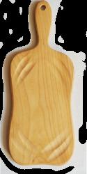 Разделочная подставка из абрикоса D 20 cm
